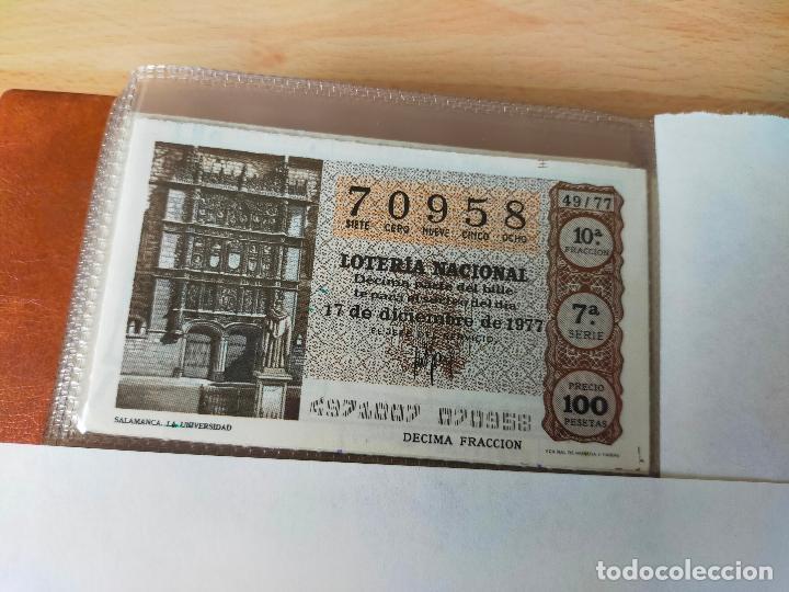 Lotería Nacional: Colección décimos de lotería España años 1967-1990 CAPICUAS Y NUMEROS BAJOS EXCELENTE! - Foto 71 - 265158944