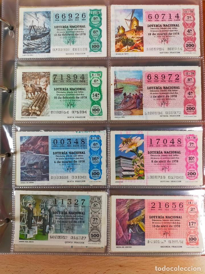 Lotería Nacional: Colección décimos de lotería España años 1967-1990 CAPICUAS Y NUMEROS BAJOS EXCELENTE! - Foto 73 - 265158944