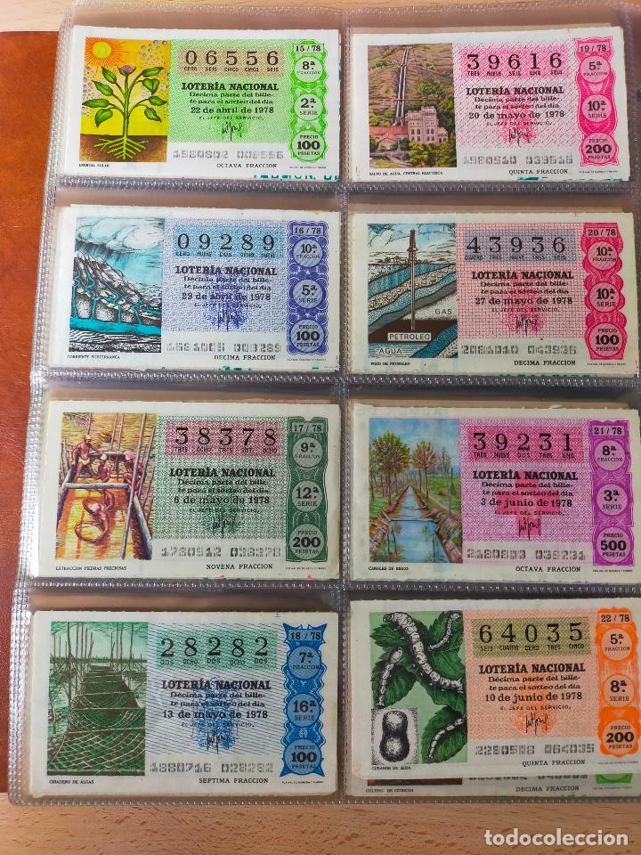 Lotería Nacional: Colección décimos de lotería España años 1967-1990 CAPICUAS Y NUMEROS BAJOS EXCELENTE! - Foto 74 - 265158944