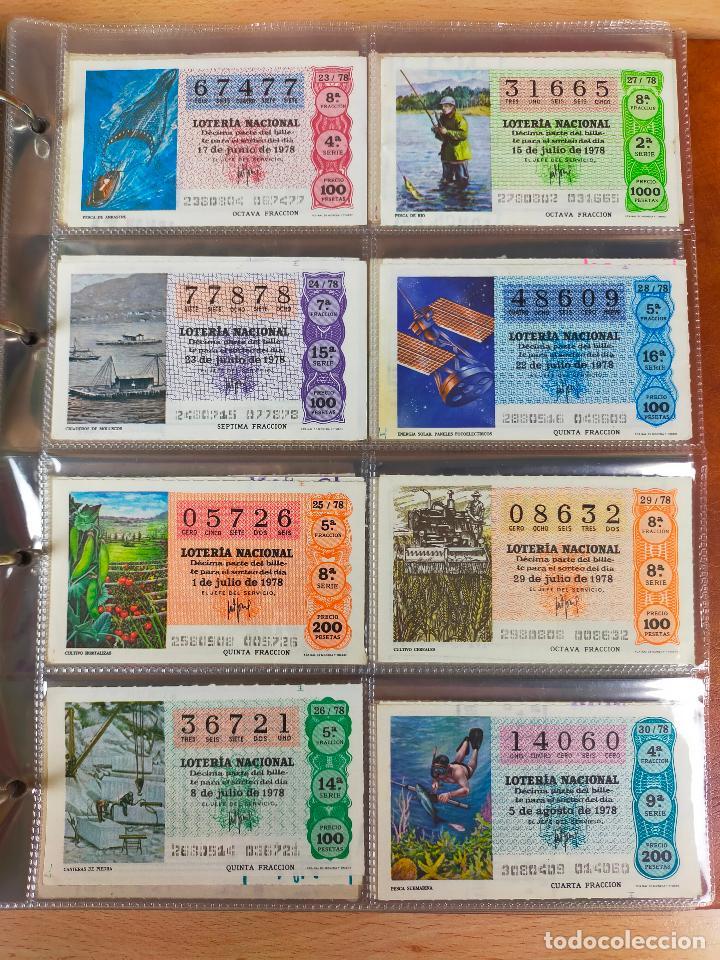 Lotería Nacional: Colección décimos de lotería España años 1967-1990 CAPICUAS Y NUMEROS BAJOS EXCELENTE! - Foto 75 - 265158944