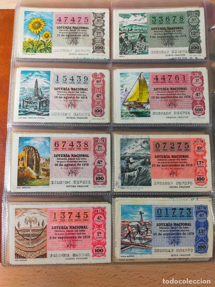 Lotería Nacional: Colección décimos de lotería España años 1967-1990 CAPICUAS Y NUMEROS BAJOS EXCELENTE! - Foto 76 - 265158944