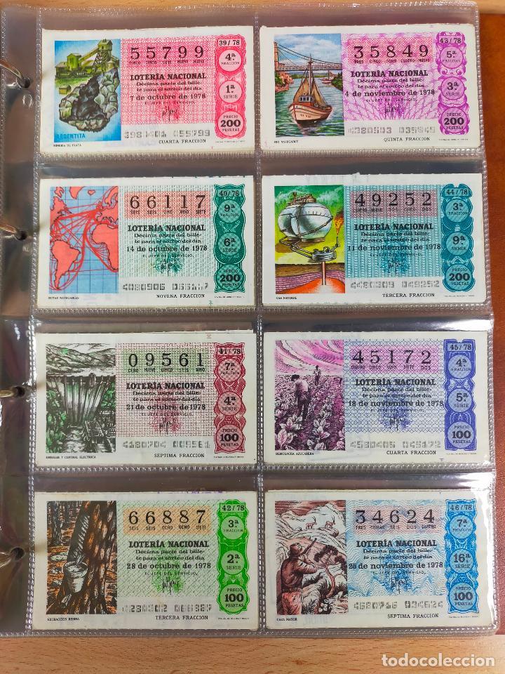 Lotería Nacional: Colección décimos de lotería España años 1967-1990 CAPICUAS Y NUMEROS BAJOS EXCELENTE! - Foto 77 - 265158944