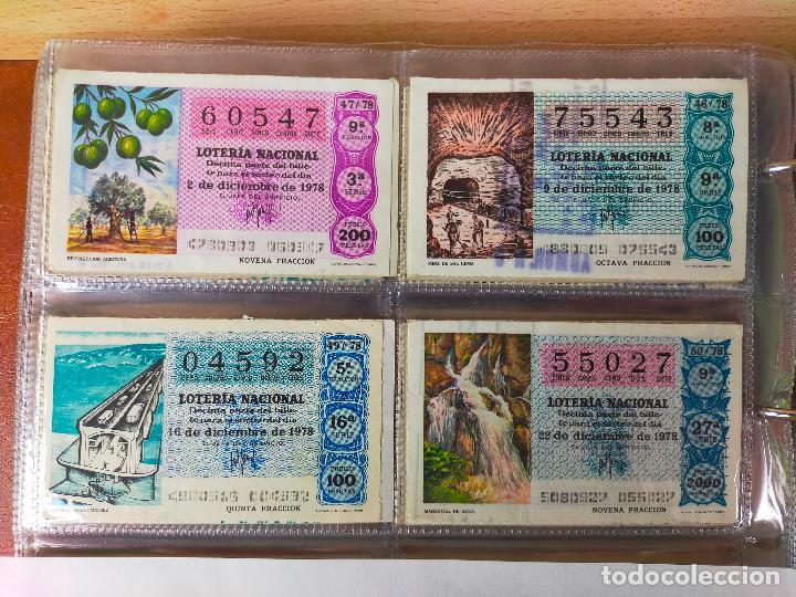 Lotería Nacional: Colección décimos de lotería España años 1967-1990 CAPICUAS Y NUMEROS BAJOS EXCELENTE! - Foto 78 - 265158944