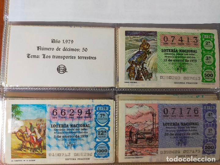 Lotería Nacional: Colección décimos de lotería España años 1967-1990 CAPICUAS Y NUMEROS BAJOS EXCELENTE! - Foto 79 - 265158944