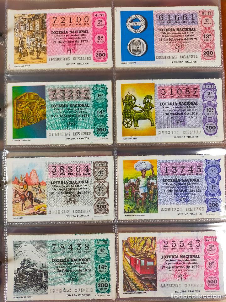 Lotería Nacional: Colección décimos de lotería España años 1967-1990 CAPICUAS Y NUMEROS BAJOS EXCELENTE! - Foto 80 - 265158944