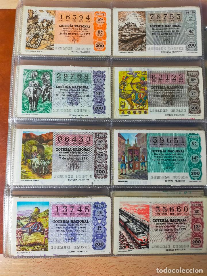 Lotería Nacional: Colección décimos de lotería España años 1967-1990 CAPICUAS Y NUMEROS BAJOS EXCELENTE! - Foto 81 - 265158944