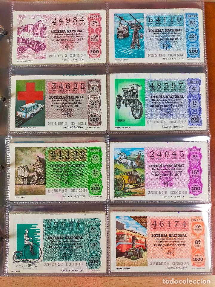 Lotería Nacional: Colección décimos de lotería España años 1967-1990 CAPICUAS Y NUMEROS BAJOS EXCELENTE! - Foto 82 - 265158944