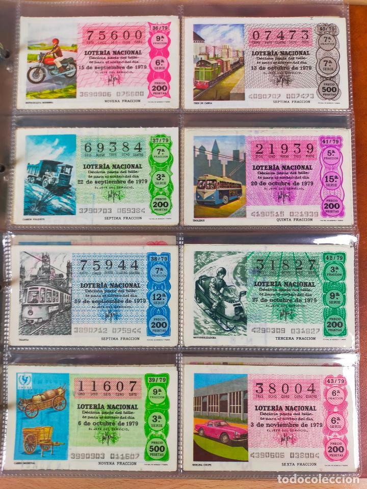 Lotería Nacional: Colección décimos de lotería España años 1967-1990 CAPICUAS Y NUMEROS BAJOS EXCELENTE! - Foto 84 - 265158944