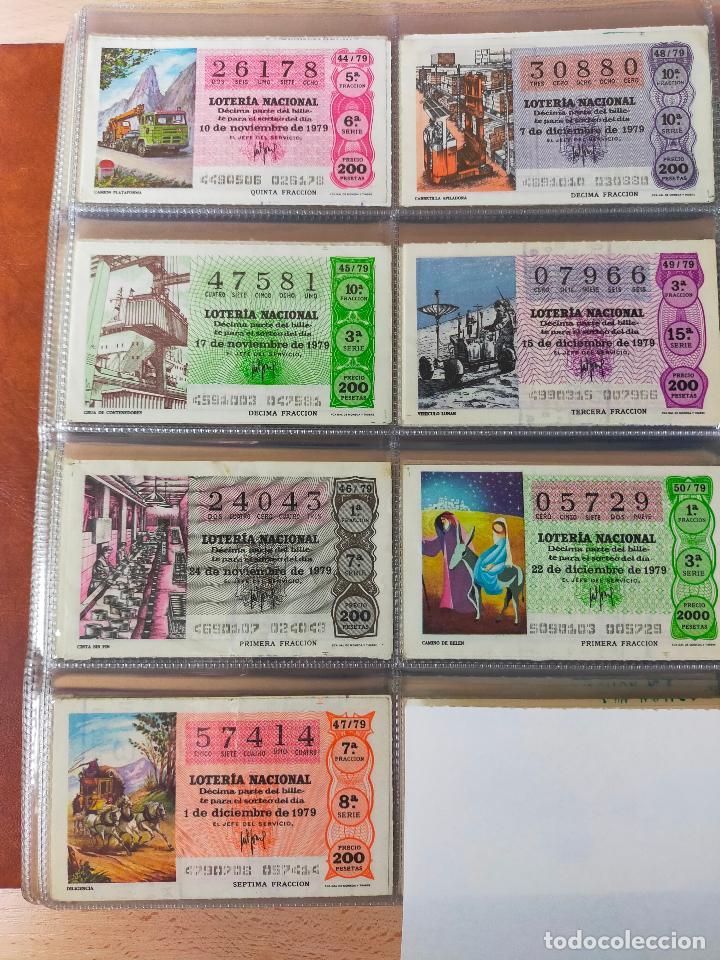 Lotería Nacional: Colección décimos de lotería España años 1967-1990 CAPICUAS Y NUMEROS BAJOS EXCELENTE! - Foto 85 - 265158944