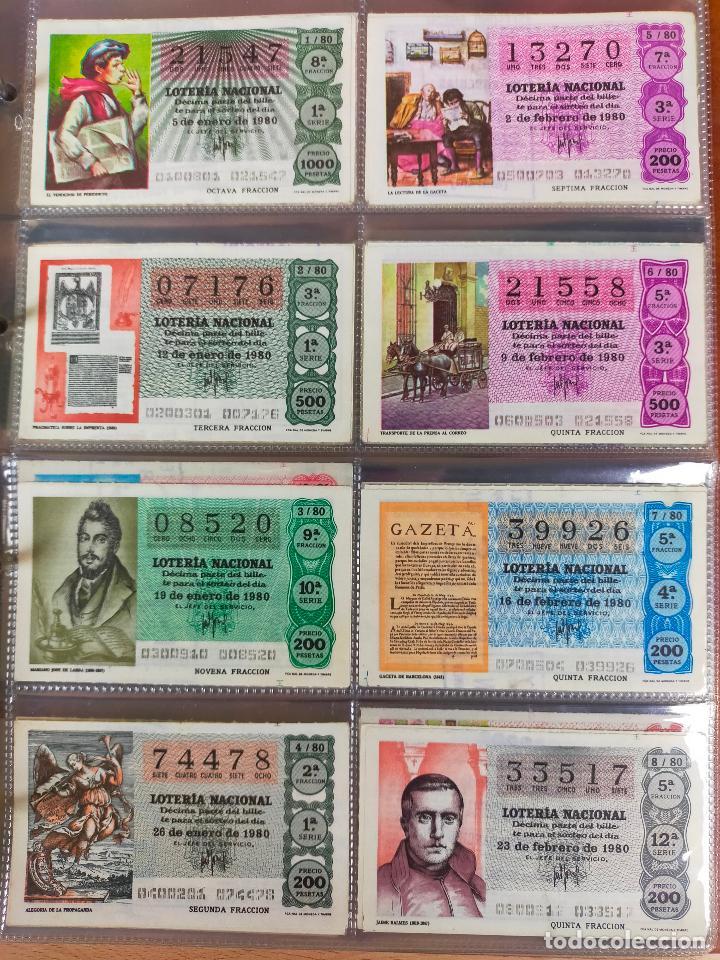 Lotería Nacional: Colección décimos de lotería España años 1967-1990 CAPICUAS Y NUMEROS BAJOS EXCELENTE! - Foto 87 - 265158944