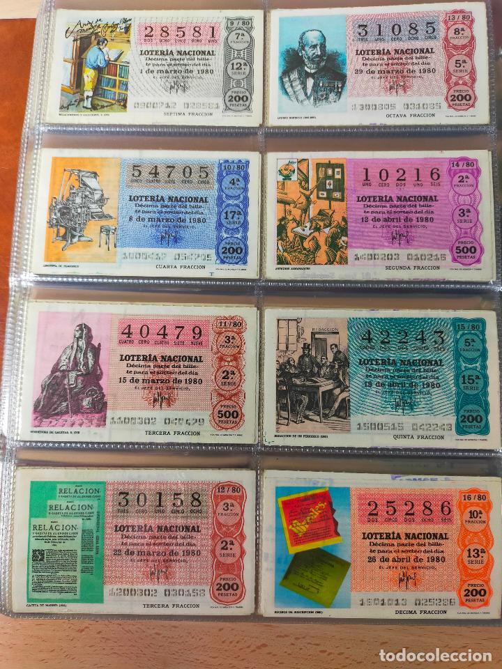 Lotería Nacional: Colección décimos de lotería España años 1967-1990 CAPICUAS Y NUMEROS BAJOS EXCELENTE! - Foto 88 - 265158944