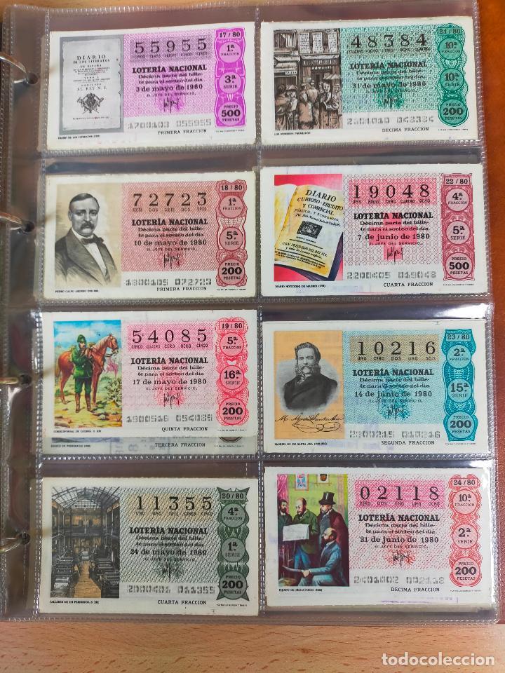 Lotería Nacional: Colección décimos de lotería España años 1967-1990 CAPICUAS Y NUMEROS BAJOS EXCELENTE! - Foto 89 - 265158944