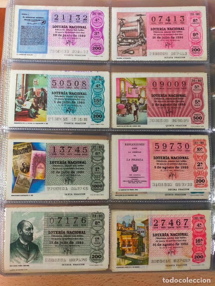 Lotería Nacional: Colección décimos de lotería España años 1967-1990 CAPICUAS Y NUMEROS BAJOS EXCELENTE! - Foto 90 - 265158944