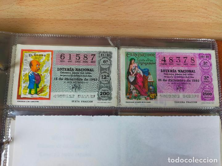 Lotería Nacional: Colección décimos de lotería España años 1967-1990 CAPICUAS Y NUMEROS BAJOS EXCELENTE! - Foto 92 - 265158944