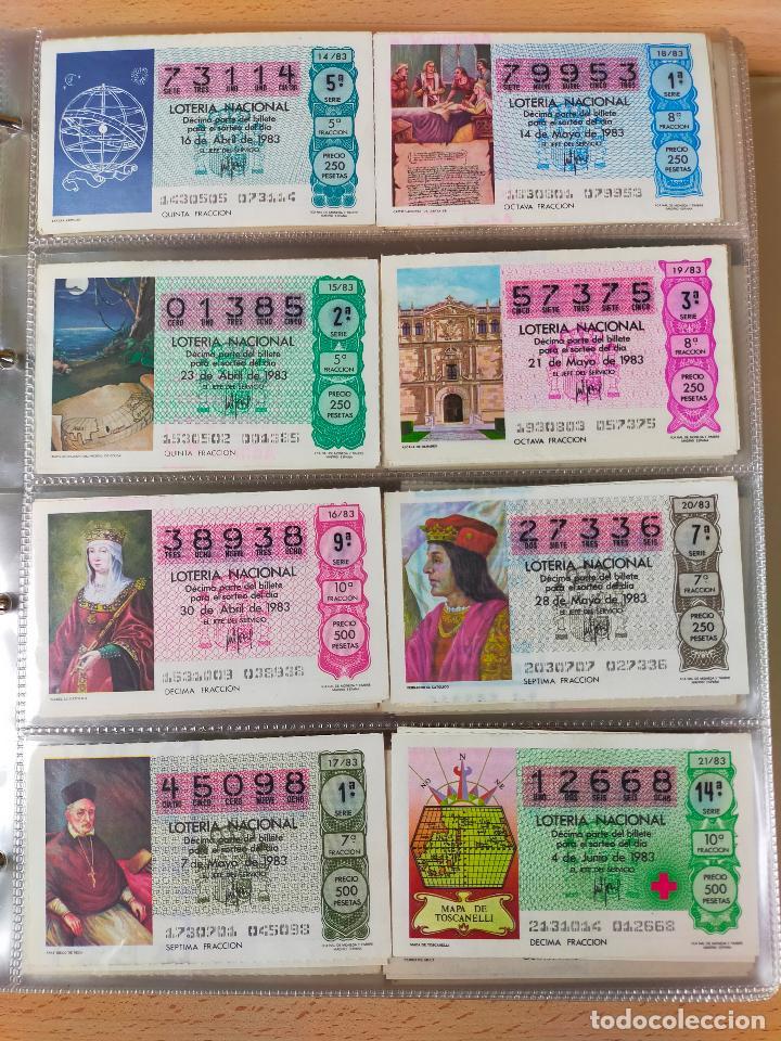 Lotería Nacional: Colección décimos de lotería España años 1967-1990 CAPICUAS Y NUMEROS BAJOS EXCELENTE! - Foto 93 - 265158944