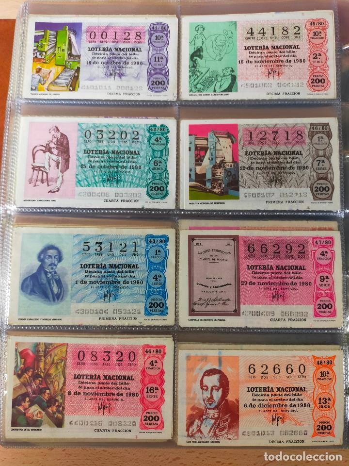 Lotería Nacional: Colección décimos de lotería España años 1967-1990 CAPICUAS Y NUMEROS BAJOS EXCELENTE! - Foto 95 - 265158944