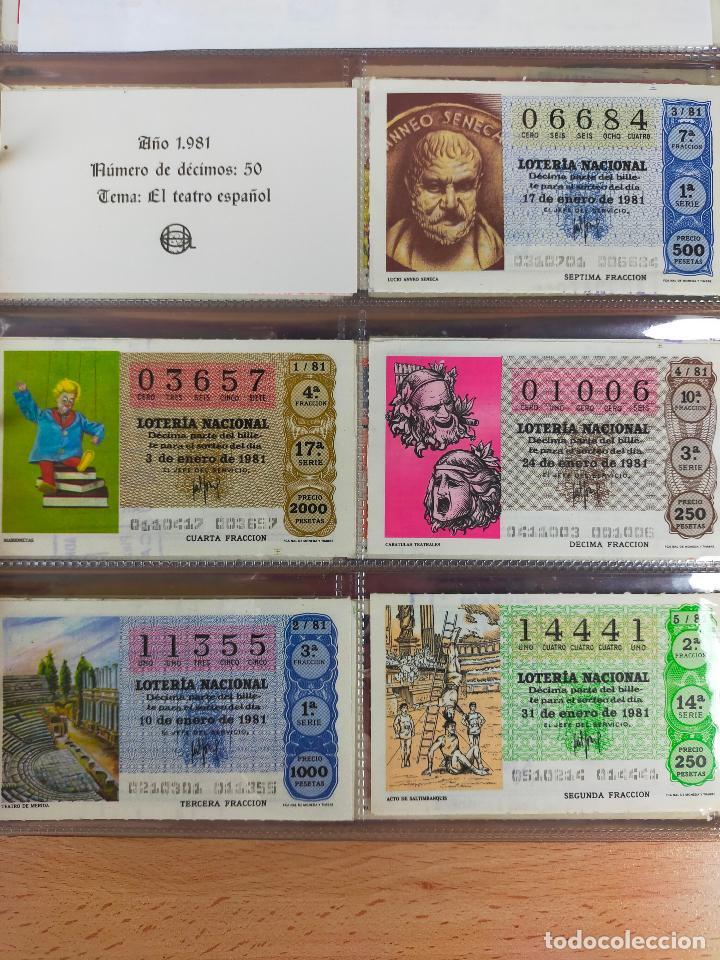 Lotería Nacional: Colección décimos de lotería España años 1967-1990 CAPICUAS Y NUMEROS BAJOS EXCELENTE! - Foto 96 - 265158944