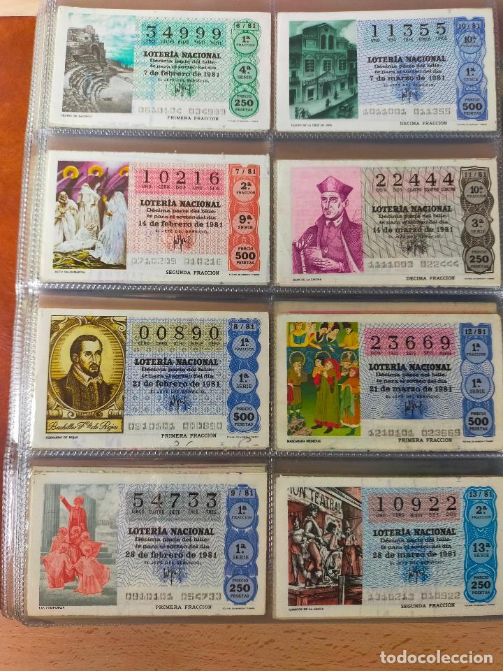 Lotería Nacional: Colección décimos de lotería España años 1967-1990 CAPICUAS Y NUMEROS BAJOS EXCELENTE! - Foto 97 - 265158944