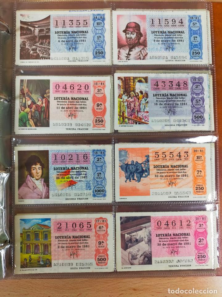 Lotería Nacional: Colección décimos de lotería España años 1967-1990 CAPICUAS Y NUMEROS BAJOS EXCELENTE! - Foto 98 - 265158944