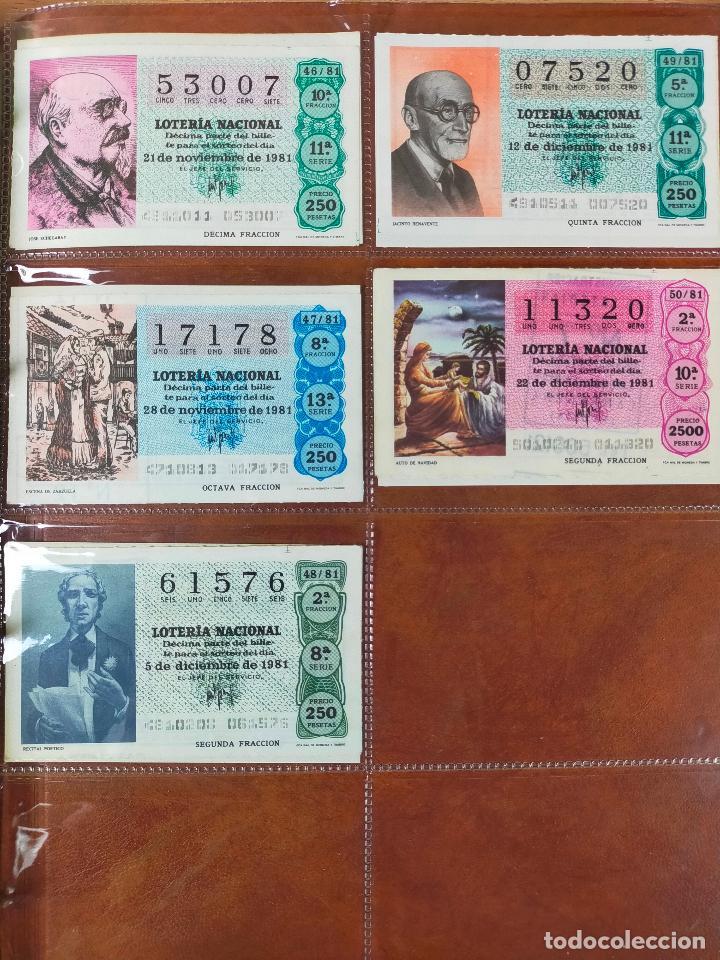 Lotería Nacional: Colección décimos de lotería España años 1967-1990 CAPICUAS Y NUMEROS BAJOS EXCELENTE! - Foto 101 - 265158944