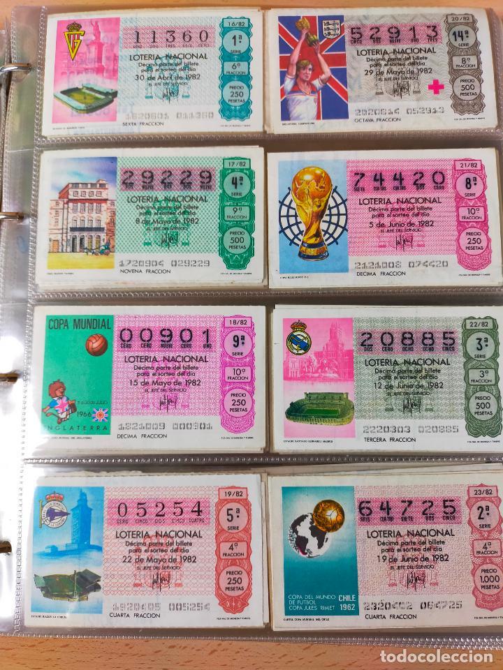 Lotería Nacional: Colección décimos de lotería España años 1967-1990 CAPICUAS Y NUMEROS BAJOS EXCELENTE! - Foto 104 - 265158944