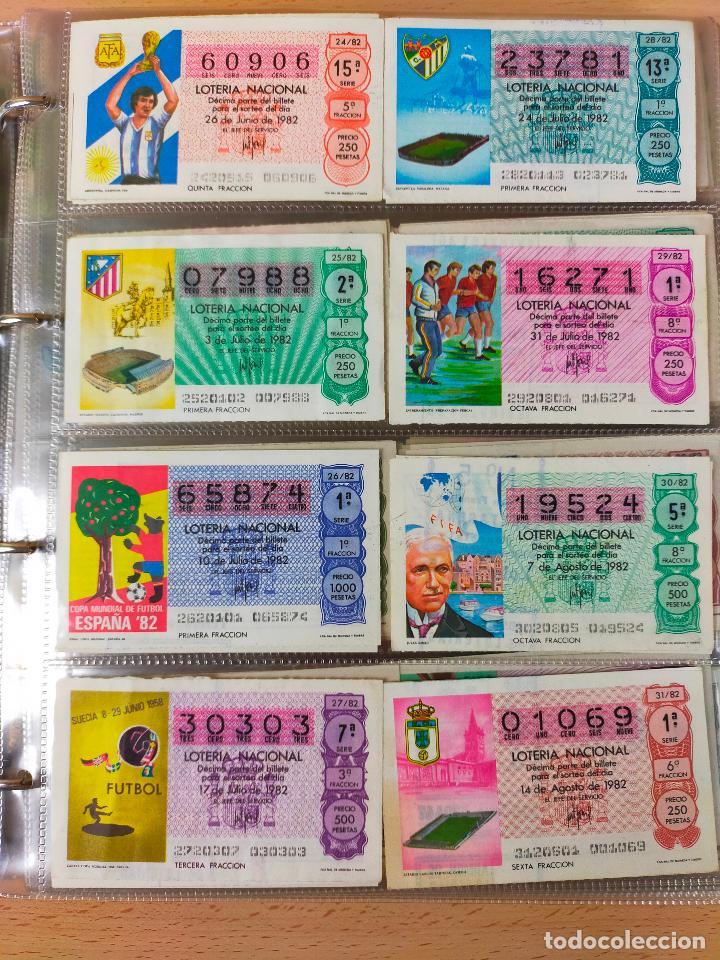 Lotería Nacional: Colección décimos de lotería España años 1967-1990 CAPICUAS Y NUMEROS BAJOS EXCELENTE! - Foto 105 - 265158944