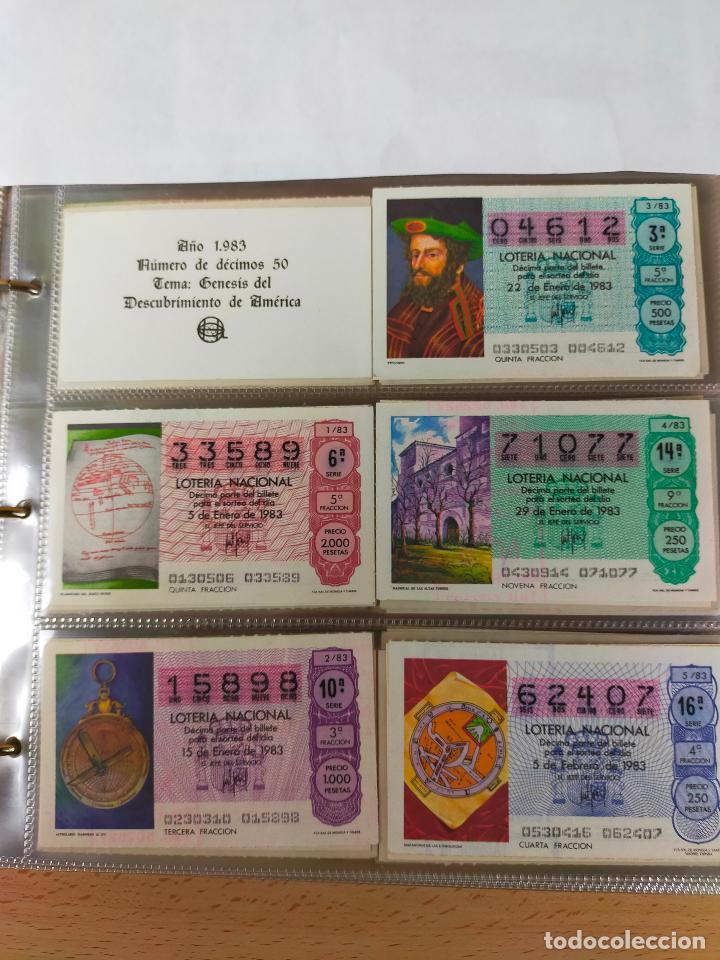 Lotería Nacional: Colección décimos de lotería España años 1967-1990 CAPICUAS Y NUMEROS BAJOS EXCELENTE! - Foto 109 - 265158944