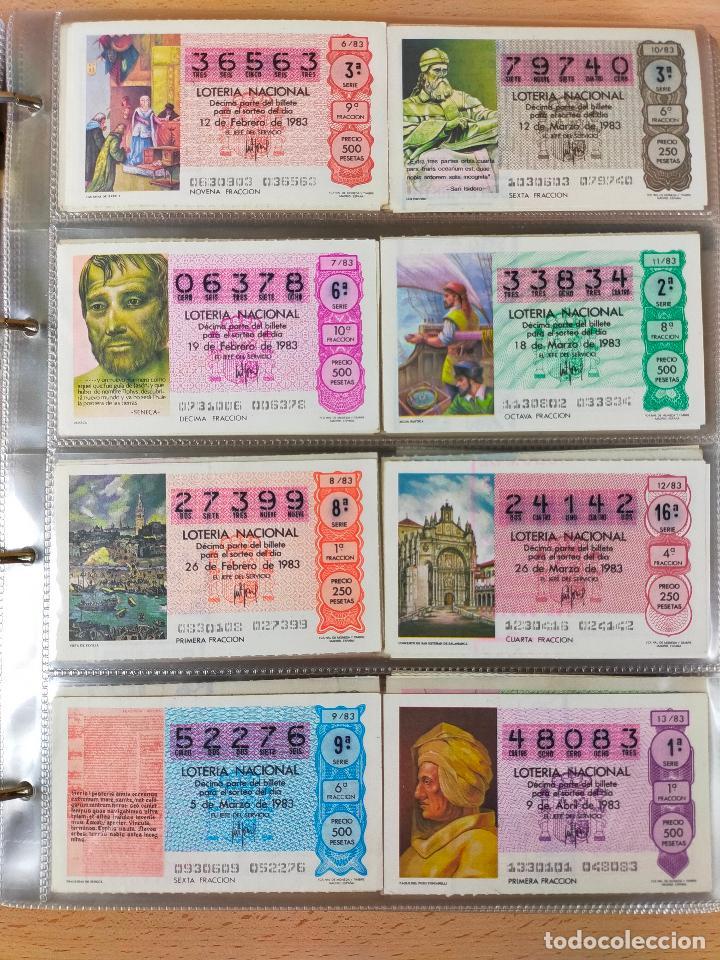 Lotería Nacional: Colección décimos de lotería España años 1967-1990 CAPICUAS Y NUMEROS BAJOS EXCELENTE! - Foto 110 - 265158944