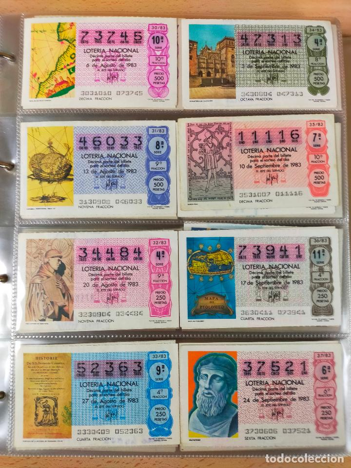 Lotería Nacional: Colección décimos de lotería España años 1967-1990 CAPICUAS Y NUMEROS BAJOS EXCELENTE! - Foto 112 - 265158944