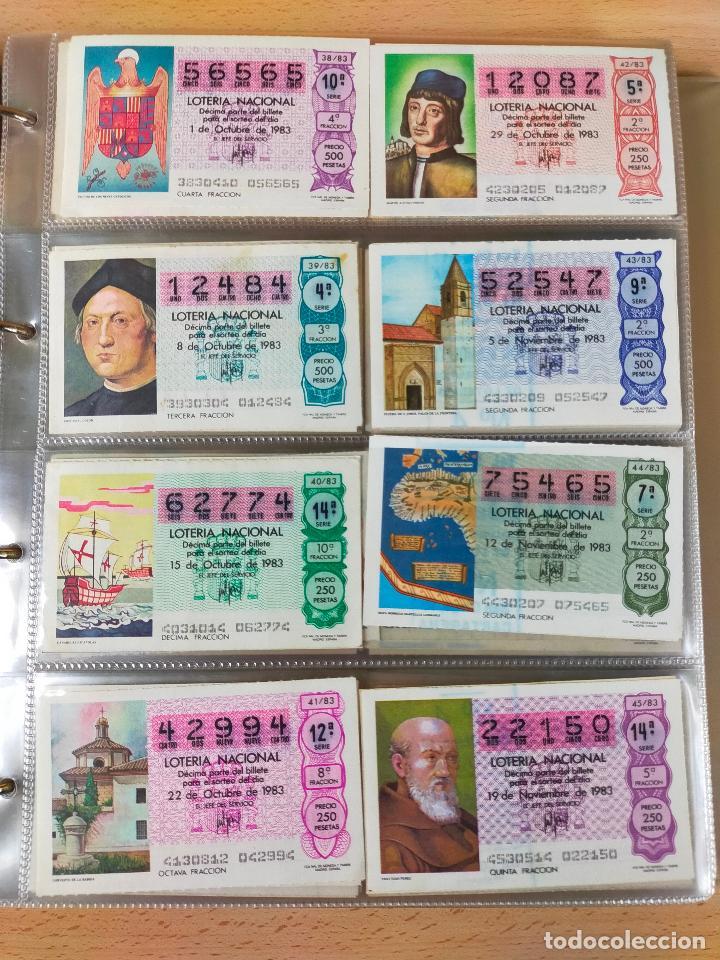 Lotería Nacional: Colección décimos de lotería España años 1967-1990 CAPICUAS Y NUMEROS BAJOS EXCELENTE! - Foto 113 - 265158944