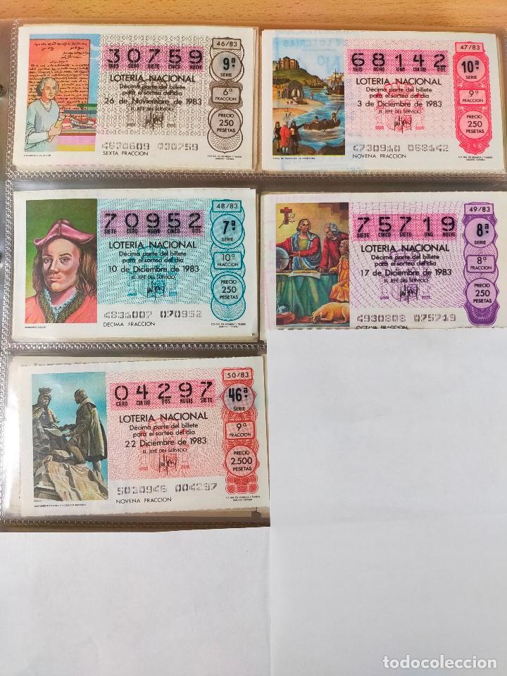 Lotería Nacional: Colección décimos de lotería España años 1967-1990 CAPICUAS Y NUMEROS BAJOS EXCELENTE! - Foto 114 - 265158944