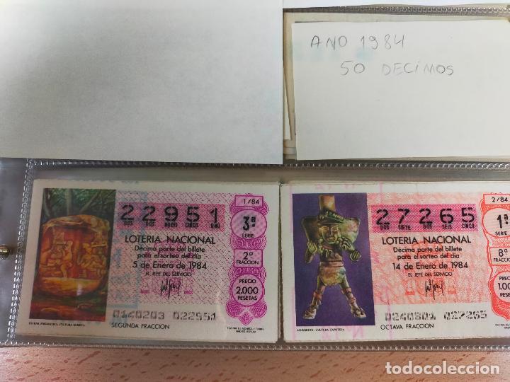 Lotería Nacional: Colección décimos de lotería España años 1967-1990 CAPICUAS Y NUMEROS BAJOS EXCELENTE! - Foto 115 - 265158944