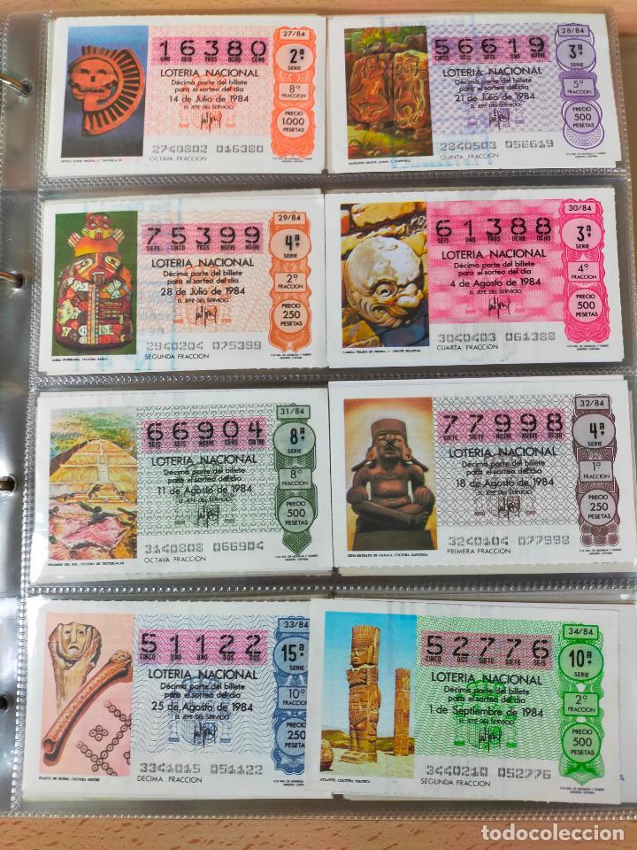 Lotería Nacional: Colección décimos de lotería España años 1967-1990 CAPICUAS Y NUMEROS BAJOS EXCELENTE! - Foto 119 - 265158944