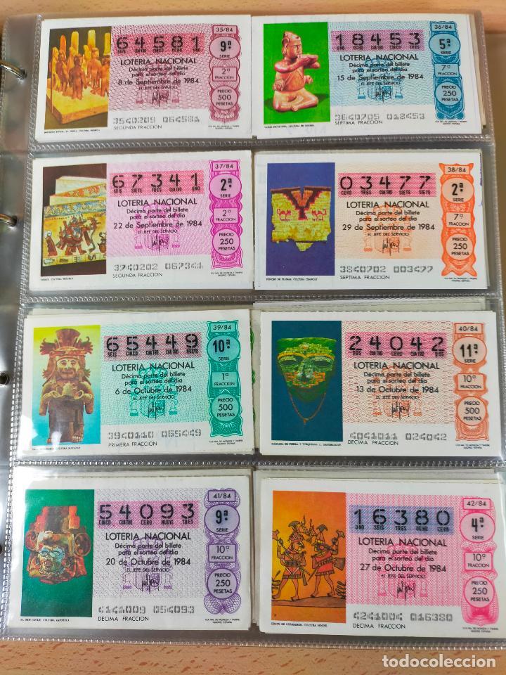 Lotería Nacional: Colección décimos de lotería España años 1967-1990 CAPICUAS Y NUMEROS BAJOS EXCELENTE! - Foto 120 - 265158944