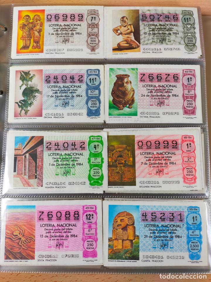 Lotería Nacional: Colección décimos de lotería España años 1967-1990 CAPICUAS Y NUMEROS BAJOS EXCELENTE! - Foto 122 - 265158944