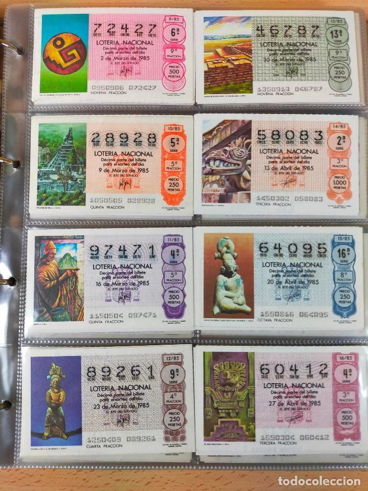 Lotería Nacional: Colección décimos de lotería España años 1967-1990 CAPICUAS Y NUMEROS BAJOS EXCELENTE! - Foto 123 - 265158944