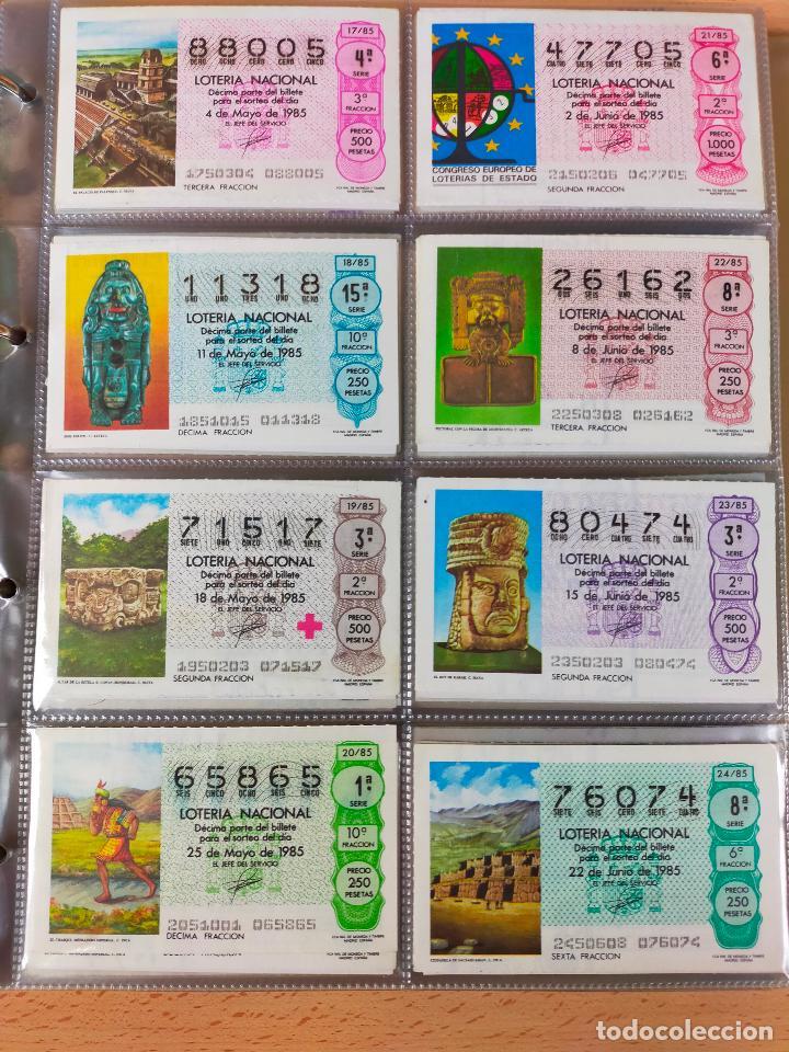 Lotería Nacional: Colección décimos de lotería España años 1967-1990 CAPICUAS Y NUMEROS BAJOS EXCELENTE! - Foto 124 - 265158944