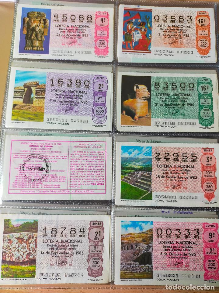 Lotería Nacional: Colección décimos de lotería España años 1967-1990 CAPICUAS Y NUMEROS BAJOS EXCELENTE! - Foto 126 - 265158944