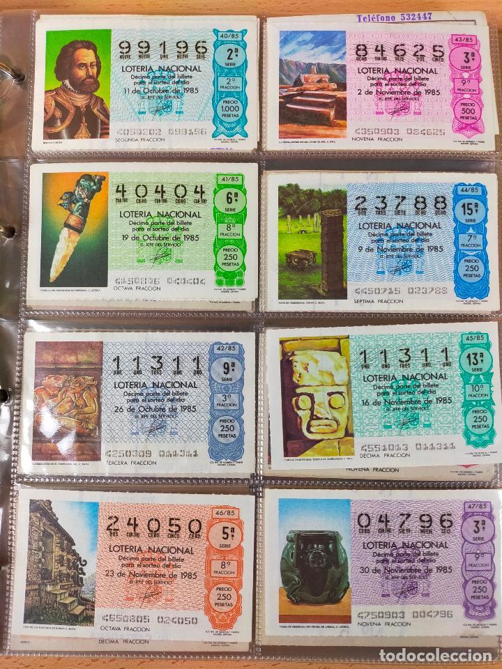 Lotería Nacional: Colección décimos de lotería España años 1967-1990 CAPICUAS Y NUMEROS BAJOS EXCELENTE! - Foto 127 - 265158944
