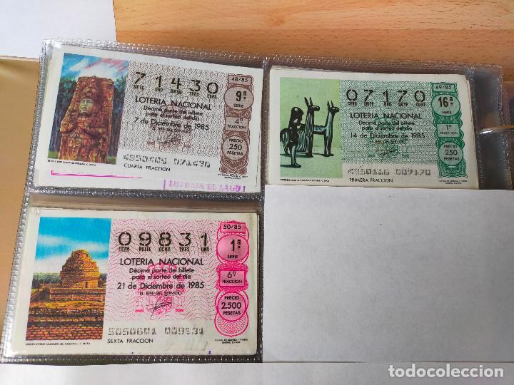 Lotería Nacional: Colección décimos de lotería España años 1967-1990 CAPICUAS Y NUMEROS BAJOS EXCELENTE! - Foto 128 - 265158944