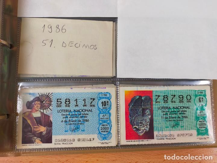 Lotería Nacional: Colección décimos de lotería España años 1967-1990 CAPICUAS Y NUMEROS BAJOS EXCELENTE! - Foto 129 - 265158944