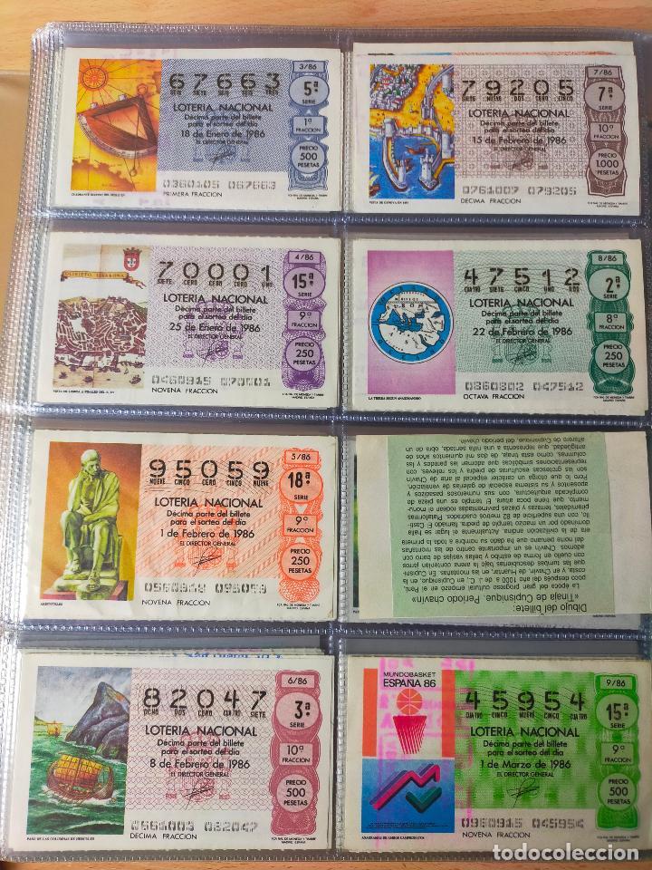Lotería Nacional: Colección décimos de lotería España años 1967-1990 CAPICUAS Y NUMEROS BAJOS EXCELENTE! - Foto 130 - 265158944