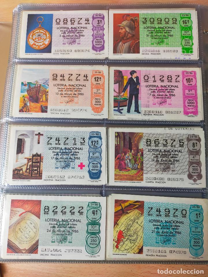Lotería Nacional: Colección décimos de lotería España años 1967-1990 CAPICUAS Y NUMEROS BAJOS EXCELENTE! - Foto 132 - 265158944