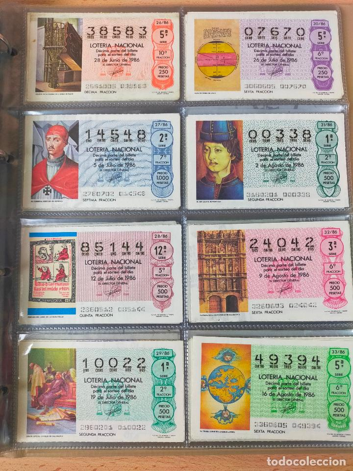 Lotería Nacional: Colección décimos de lotería España años 1967-1990 CAPICUAS Y NUMEROS BAJOS EXCELENTE! - Foto 133 - 265158944