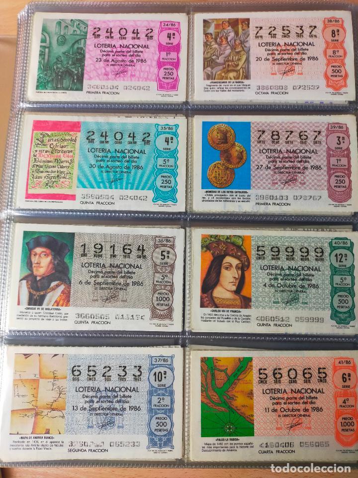 Lotería Nacional: Colección décimos de lotería España años 1967-1990 CAPICUAS Y NUMEROS BAJOS EXCELENTE! - Foto 134 - 265158944