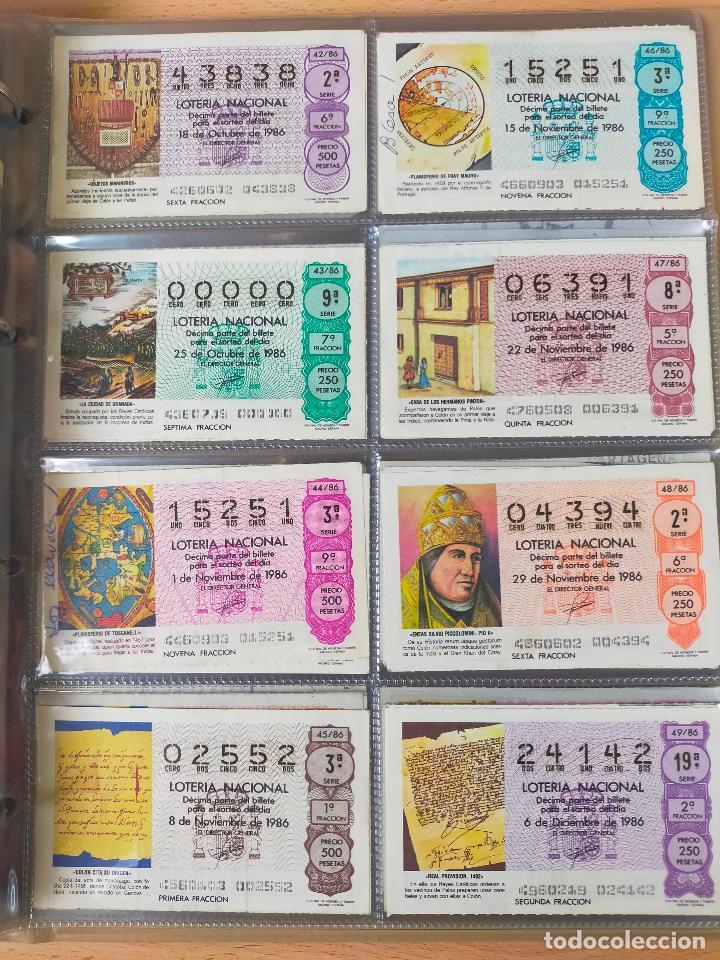 Lotería Nacional: Colección décimos de lotería España años 1967-1990 CAPICUAS Y NUMEROS BAJOS EXCELENTE! - Foto 135 - 265158944