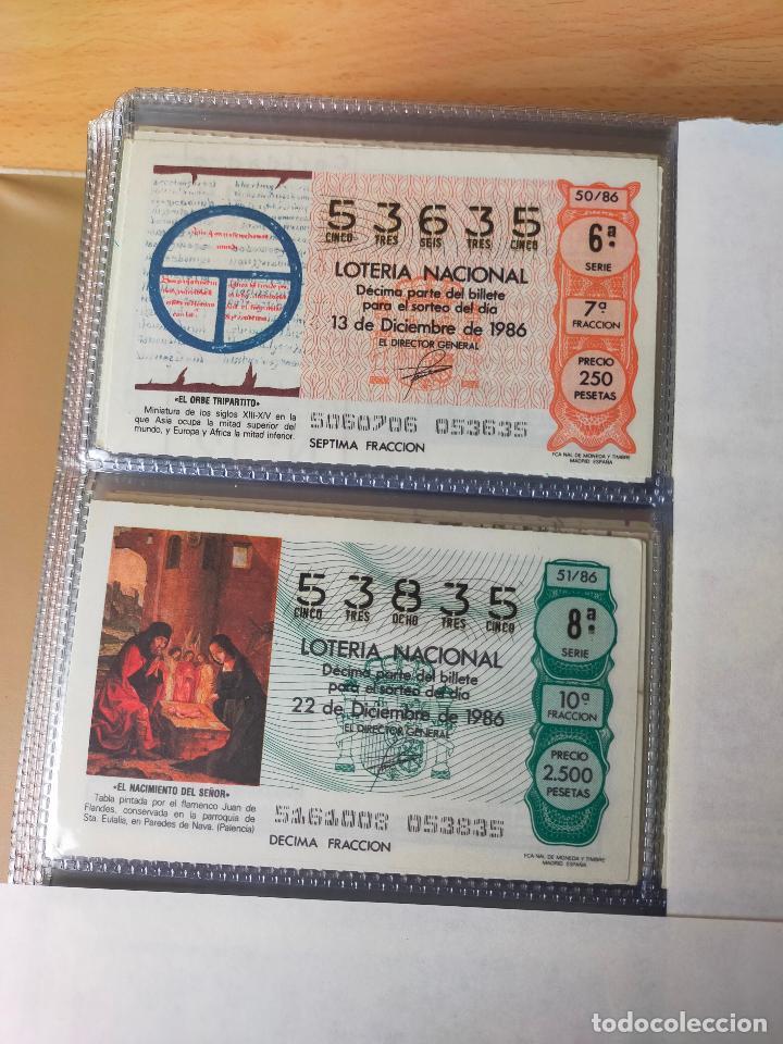 Lotería Nacional: Colección décimos de lotería España años 1967-1990 CAPICUAS Y NUMEROS BAJOS EXCELENTE! - Foto 136 - 265158944