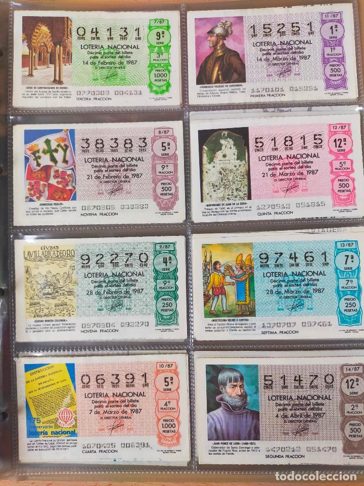 Lotería Nacional: Colección décimos de lotería España años 1967-1990 CAPICUAS Y NUMEROS BAJOS EXCELENTE! - Foto 138 - 265158944