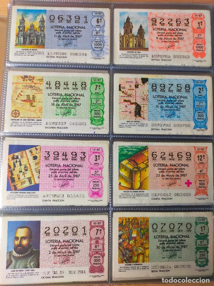Lotería Nacional: Colección décimos de lotería España años 1967-1990 CAPICUAS Y NUMEROS BAJOS EXCELENTE! - Foto 139 - 265158944