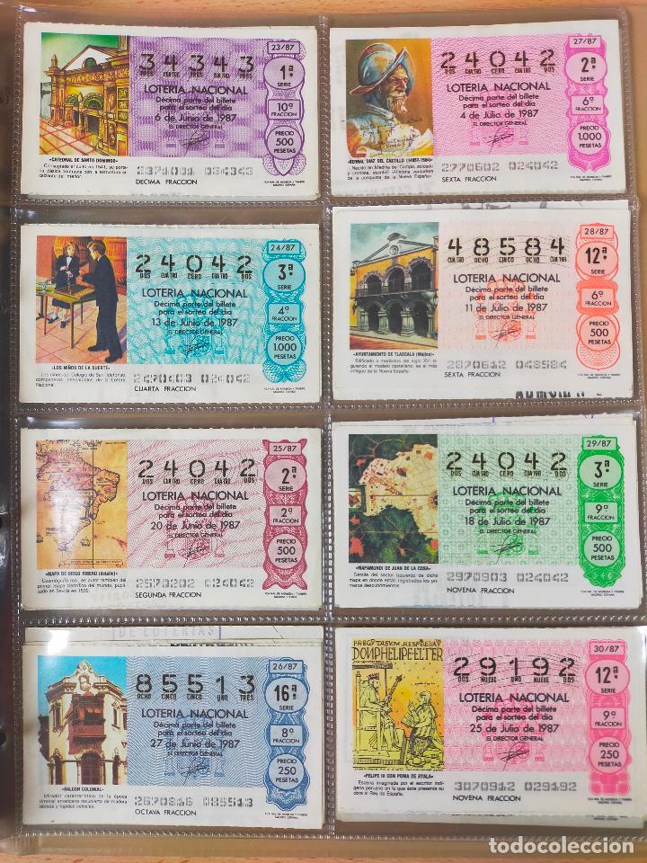 Lotería Nacional: Colección décimos de lotería España años 1967-1990 CAPICUAS Y NUMEROS BAJOS EXCELENTE! - Foto 140 - 265158944
